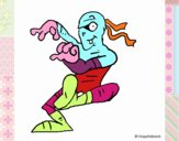 Momia bailando