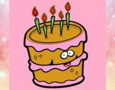 Pastel de cumpleaños 2