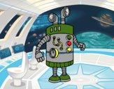 Robot periscopio