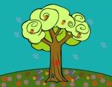 Un árbol grande