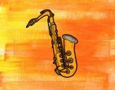 Un saxofón tenor