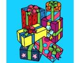 Una montaña de regalos