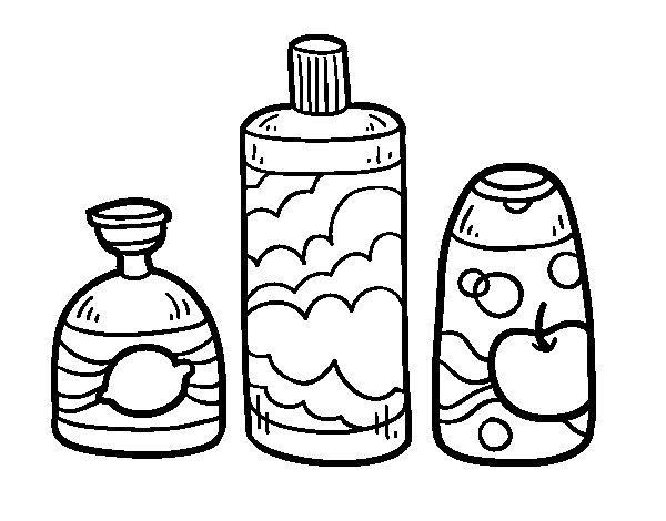 Dibujo de 3 jabones de ba o para colorear - Pintar el bano ...