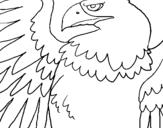 Dibujo de Águila Imperial Romana para colorear