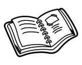 Dibujo de Álbum de colegio para colorear