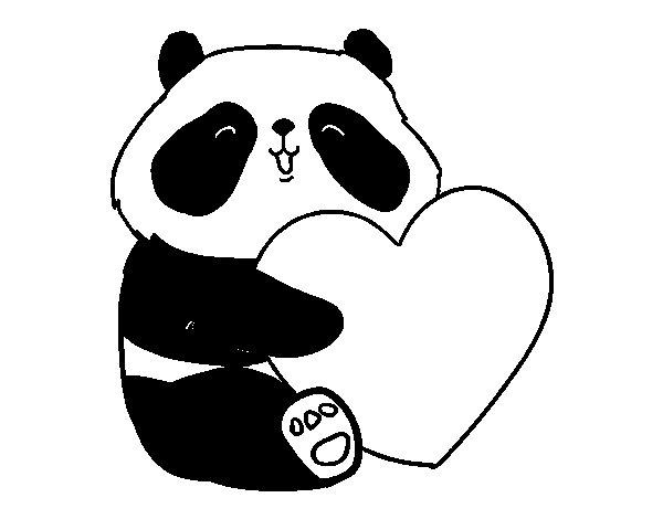 Dibujos Osos Amorosos Para Colorear E Imprimir: Pin Dibujos Osos Panda Para Imprimir On Pinterest