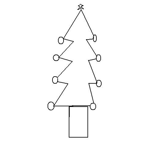 Dibujo de rbol de navidad iii para colorear - Dibujos en color de navidad ...
