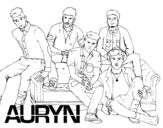 Dibujo de Auryn Boyband para colorear