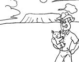 Dibujo de Australia 1 para colorear