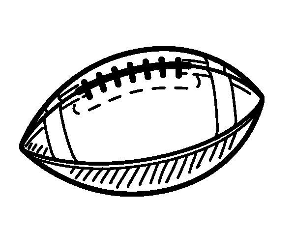 Dibujo de Balón de béisbol para Colorear