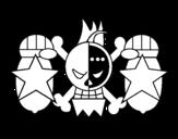 Dibujo de Bandera de Franky