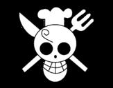 Dibujo de Bandera de Sanji