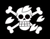 Dibujo de Bandera de Tony