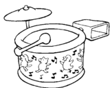 Dibujo de Bateria