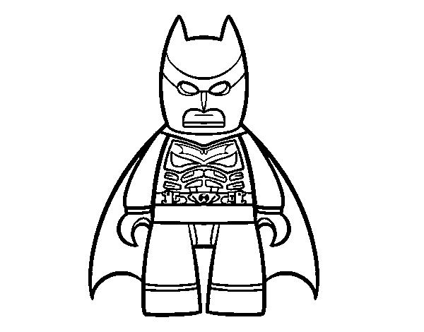 Dibujo de Batman para Colorear - Dibujos.net