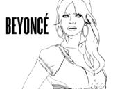 Dibujo de Beyoncé B-Day para colorear