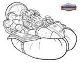Dibujo de Big Bubble Fizz con Soda Skimer para colorear