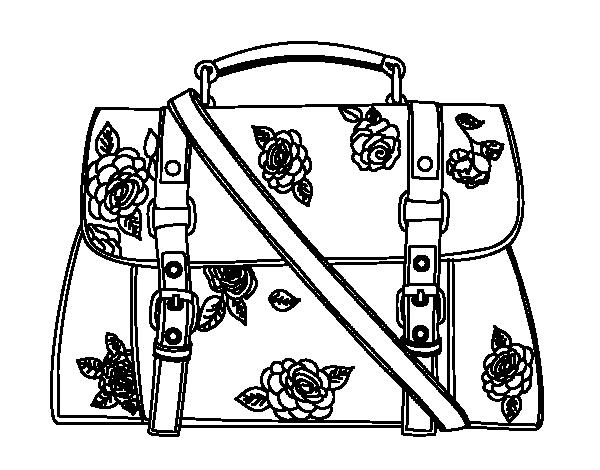 Imagenes de un bolso para colorear imagui - Bolsas para pintar ...