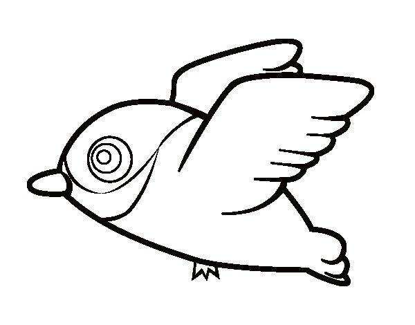 Dibujo de Cardenal para Colorear