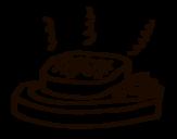 Dibujo de Carne a la parrilla para colorear
