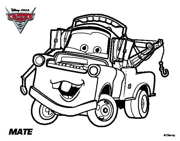 Cómo Dibujar Y Colorear A Rayo De Los Cars 3 Disney: Fichas Para Colorear De Cars 2
