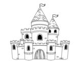 Dibujo de Castillo de princesas