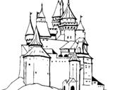 Dibujo de Castillo medieval