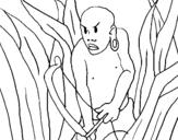 Dibujo de Cazador II para colorear