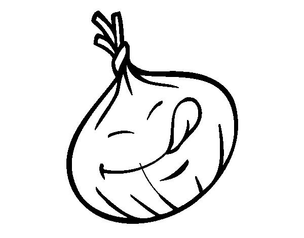 Dibujo De Sonriendo Ardilla De Dibujos Animados Para: Imagenes De Un Ajo Para Dibujar