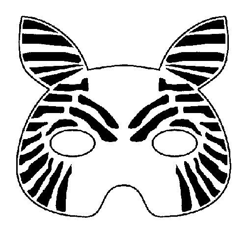 Dibujo de Cebra para Colorear