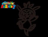 Dibujo de Chespin para colorear