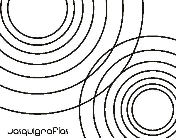 Dibujo de Círculos juntos para Colorear - Dibujos.net