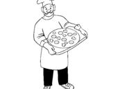 Dibujo de Cocinero para colorear