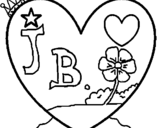 Dibujo de Corazón 9