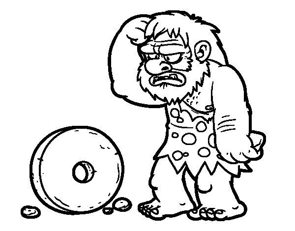 Dibujo de Creación de la rueda para Colorear