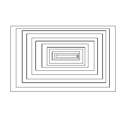 Dibujo de Cuadrados para Colorear