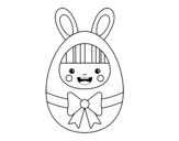 Dibujo de Disfraz de Pascua