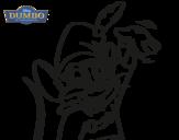 Dibujo de Dumbo - Ratón Timoteo para colorear