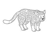 Dibujo de El guepardo para colorear