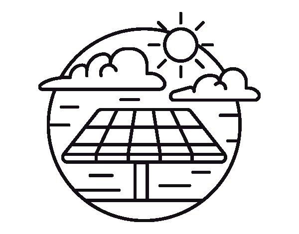 dibujos de la energia faciles
