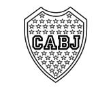 Dibujo de Escudo del Boca Juniors para colorear