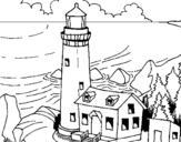 Dibujo de Faro 1 para colorear