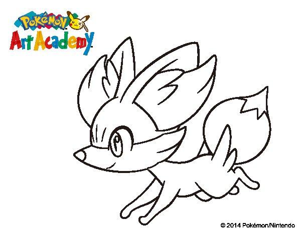 Dibujos De Pokemon A Color: Pokemon Froakie Para Colorear