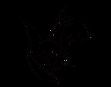 Dibujo de Flor de Brugmansia para colorear
