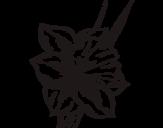 Dibujo de Flor de narciso para colorear