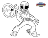 Dibujo de Frightful Fiesta para colorear