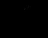 Dibujo de Garra de pantera para colorear