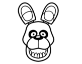 Dibujo de Golden Freddy de Five Nights at Freddy's para colorear