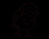 Dibujo de Gorrión común para colorear