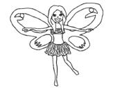 Dibujo de Hada 3